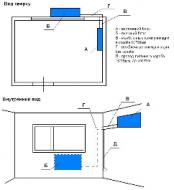Стандартный монтаж кондиционеров моделей 07,09 (до 3-х метров межблочных соединений)